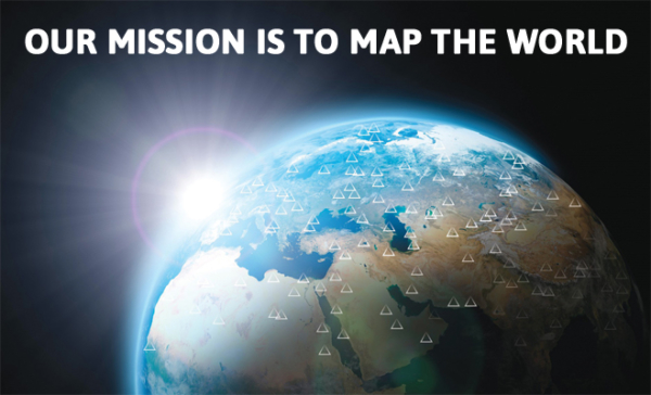 Our mission is to map the world